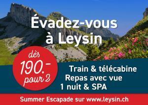 Summer Escapade Leysin
