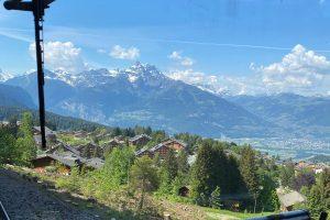 Ligne de train Bex - Villars - Col de Bretaye © dr