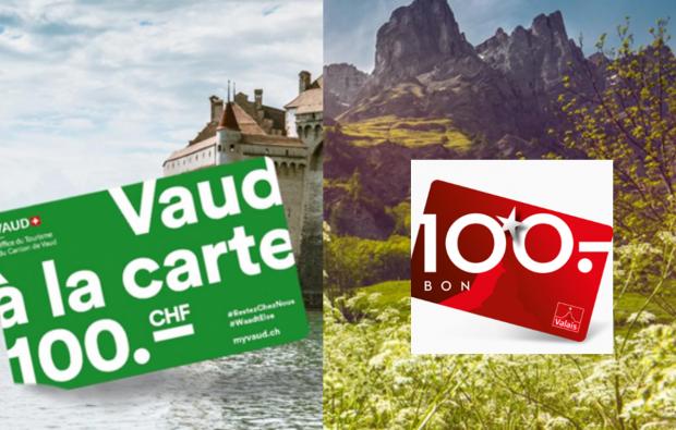 Offres touristiques Vaud et Valais