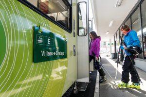 L'offre Magic Pass est valable sur le train du VB Villars Bretaye (Olivier Maire)